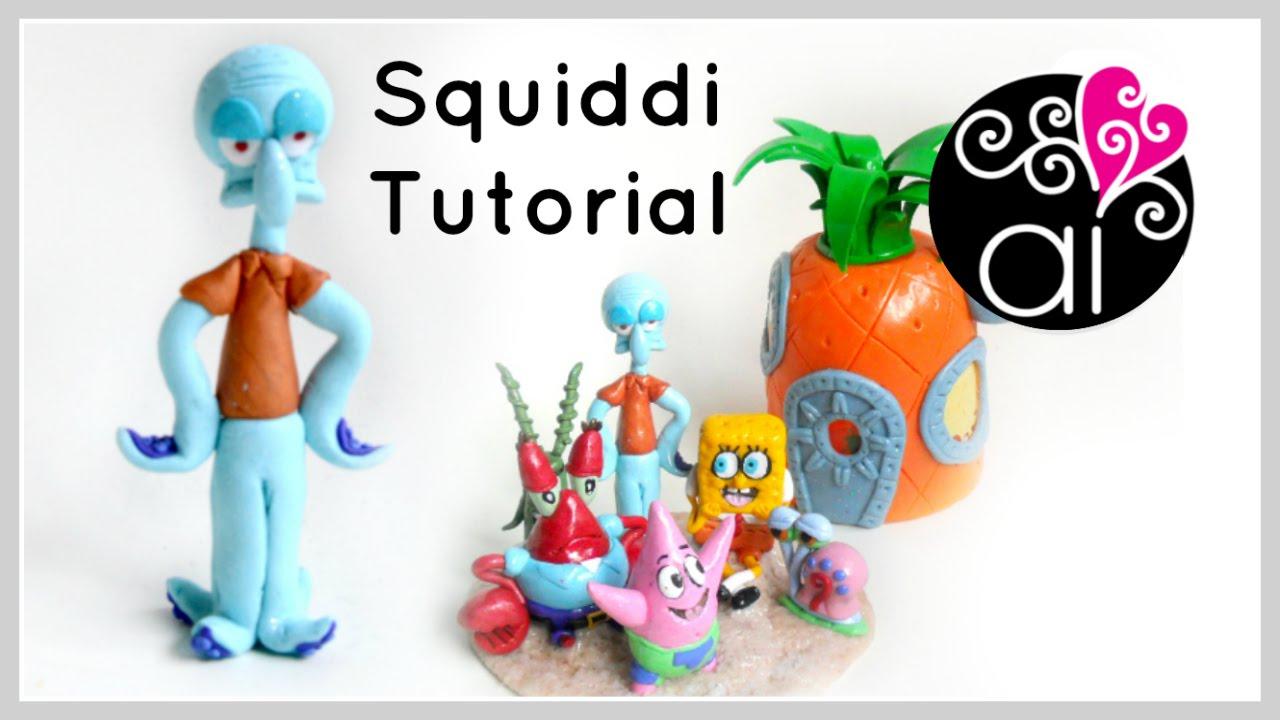 Squiddi | Polymer Clay Tutorial | Cake Topper DIY - YouTube