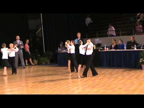 Rozlyn & Brandon USA Dance 2009 National Ballroom Championship Waltz