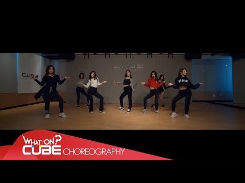 CLC  - 'BLACK DRESS' (vidéo de pratique de la chorégraphie)