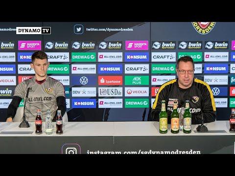 15. Spieltag | HFC - SGD | Pressekonferenz vor dem Spiel
