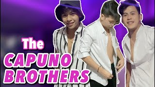 SHOPPING HAUL AND RAMP WALK WITH CAPUNO BROTHERS | GLESTER, JEROME AND JAPET LEO CAPUNO
