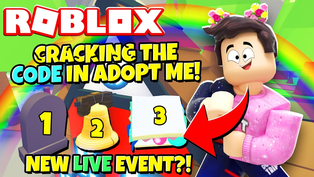Jeremy Youtube Roblox How To Crack The Secret Code In Adopt Me New Adopt Me Live Event Update Roblox Youtube