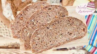 Brot einfach selbst backen I Kürbiskern-Möhren-Brot I anfängerfreundlich 👍🏻