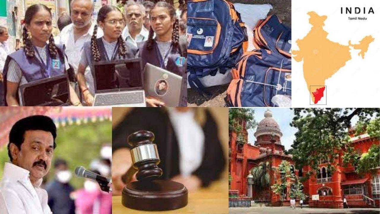 Don't print politicians' pics on school bags: Madras HC to TN govt