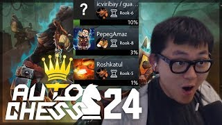 3% Scary Close Ending | Amaz Auto Chess 24
