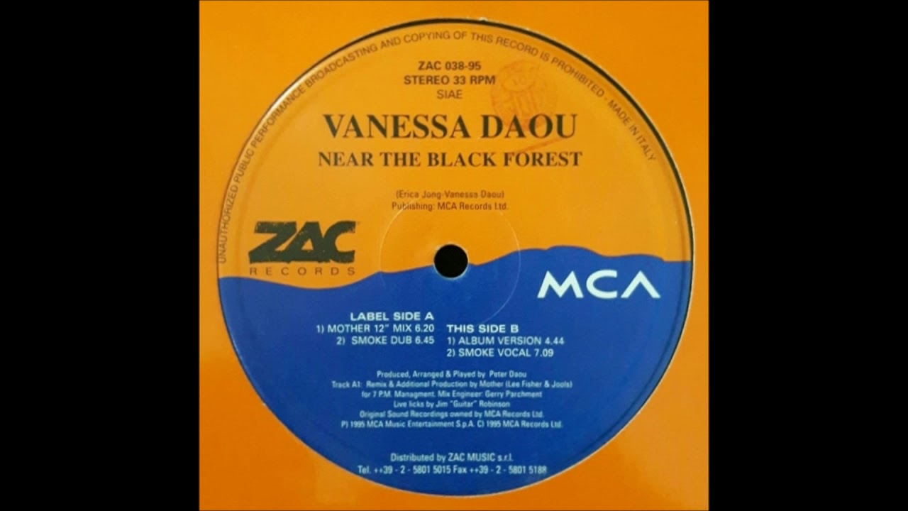 Vanessa Daou - Near The Black Forest (Smoke Dub)