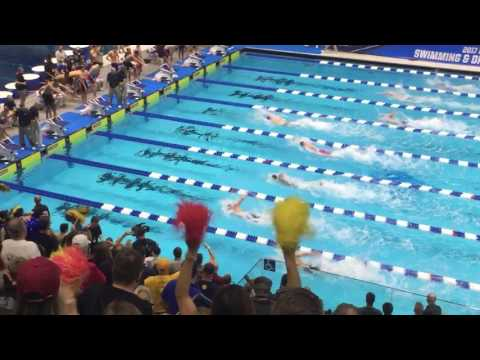 400 Free Relay - 2017 NCAA D1 swimming championships
