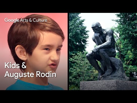 Kids Explain Art to Experts: Obie (7) vs Auguste Rodin | #NameThatArt