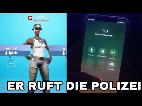 JUNGE RUFT DIE POLIZEI, WEIL ICH SEIN RECON EXPERT GESCAMMT HABE! PRANK GEHT SCHIEF.. (Fortnite)