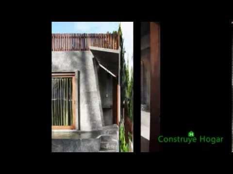 Dise o de casa muy peque a y econ mica de hormig n youtube Disenos de casas economicas