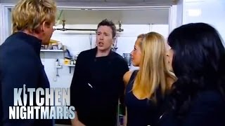 Chef Can't Take Criticism; Runs Away - Kitchen Nightmares thumbnail