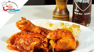Pollo a la coca cola Delicioso y fácil !!!!!!