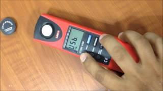 luxómetro UT382