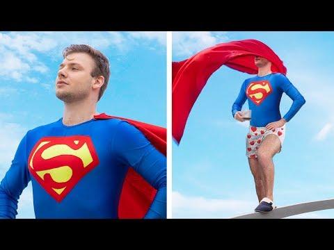 Супергерои в реальной жизни / 15 неловких ситуаций супергероев в реальной жизни