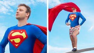 Download Супергерои в реальной жизни / 15 неловких ситуаций супергероев в реальной жизни Mp3 and Videos