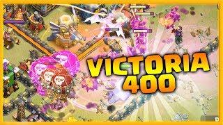 PERFECT WAR ?! VICTORIA 400 en LOS INRASCABLES - CLASH OF CLANS