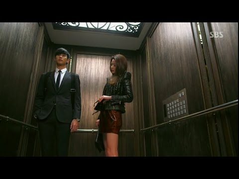 Doo Min Jun doesn't recognize Cheon  Yi !! Funny Lift Incident