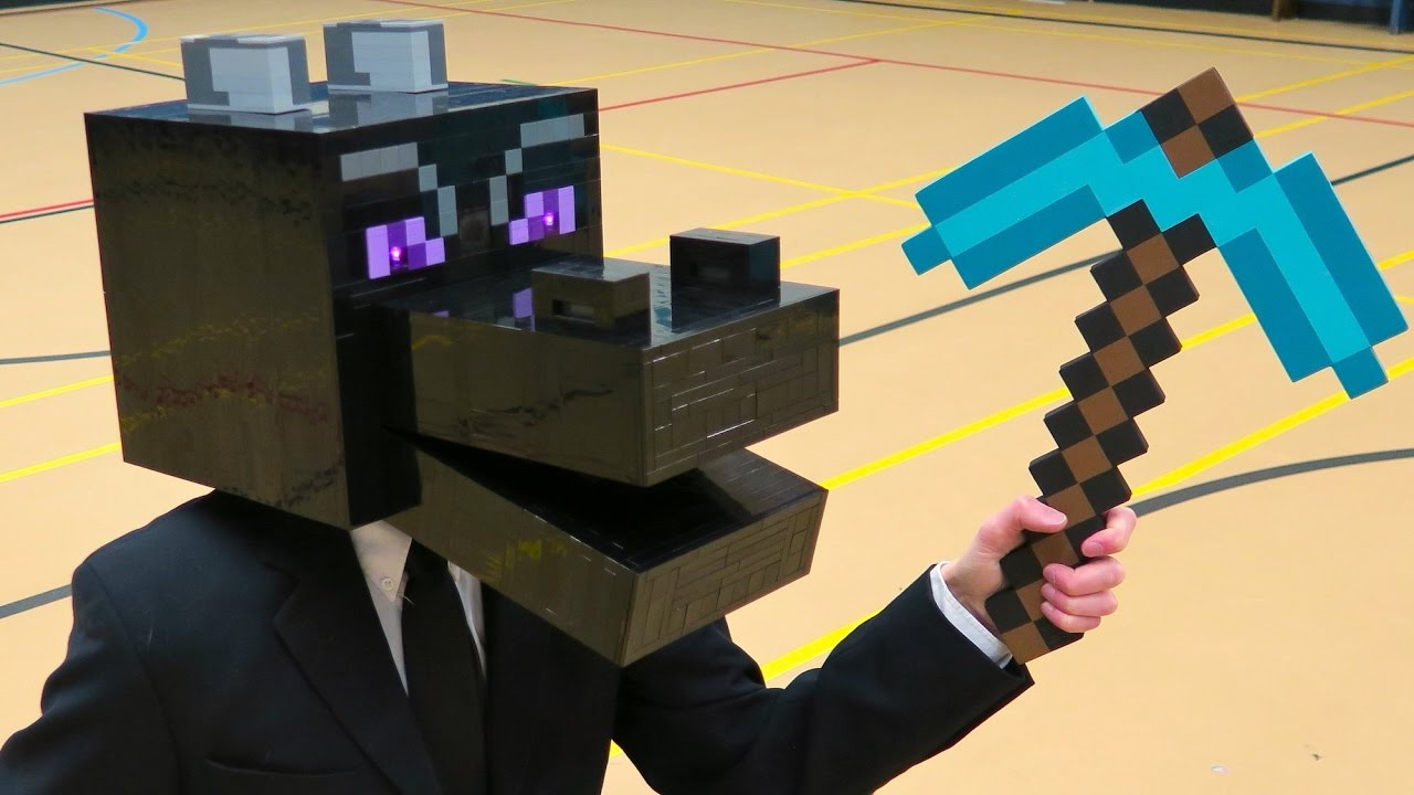 minecraft how to make a end rod your head