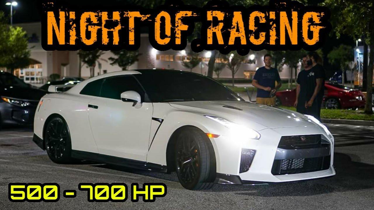 A NIGHT OF STREET RACING! | ZL1, Z06, ATS-V, M4, Supra, Hellcat, AMG GTC, GT-R, GTI & More |