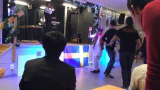 Hasan Ahmadi in association salsal in Sweden. Khanda ko