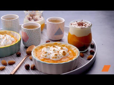 les-délices-au-#kaki-:-façon-#tartelette-et-#tiramisu-pour-#café-gourmand-😋☕