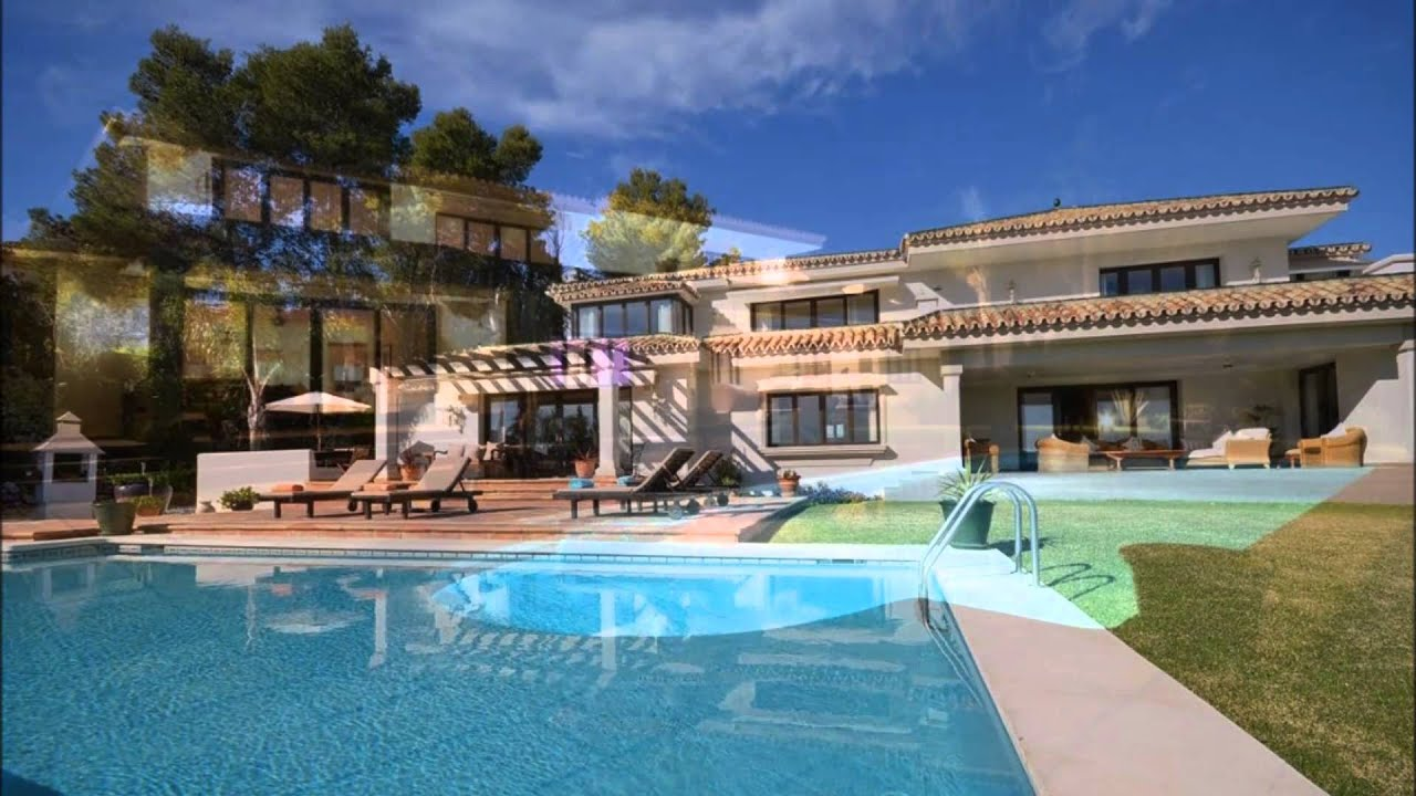 Location villa piscine marbella youtube for Piscine marbella