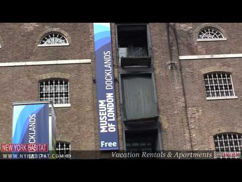 London Video Tour: Canary Wharf and the Docklands