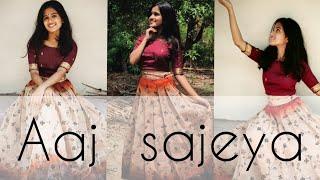 Aaj Sajeya | Alaya F | Goldie Sohel | Punit M | dance cover| Jyothilakshmy