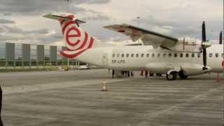 Bombardier Q400 NextGen Eurolot - take off / landing ✈