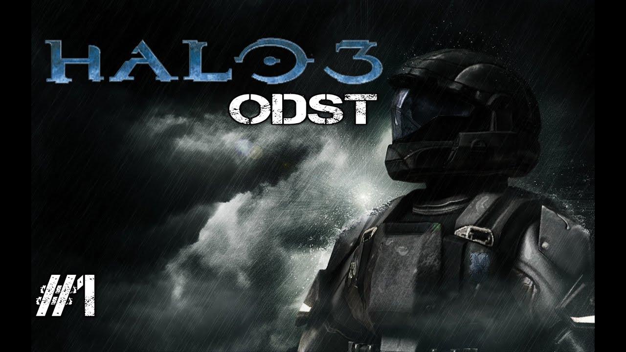 Halo 3 ODST Gameplay Walkthrough - Part 1 - Legendary ...