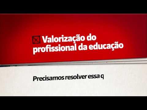 Valorização do profissional da educação: Precisamos resolver essa questão.