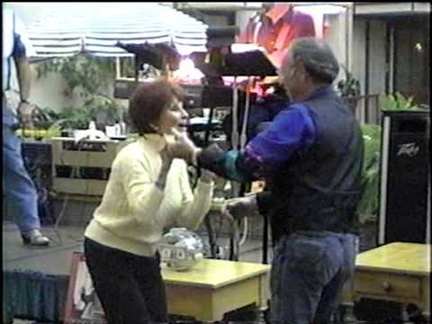 Suzanne Lloyd Dancing at Film Festival  Asheville 2002