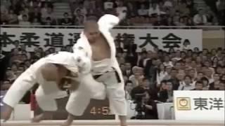 JUDO 2008 All Japan: Satoshi Ishii 石井 慧 (JPN) - Yasuyuki Muneta 棟田 康幸 (JPN)