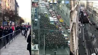 PAOK Fans in Hungary 08.11.2018 Europa League