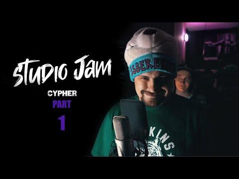 STUDIO JAM CYPHER: АрХангел, Young Dee, Tobby High, BigM, Шлем (Part 1, 2019)