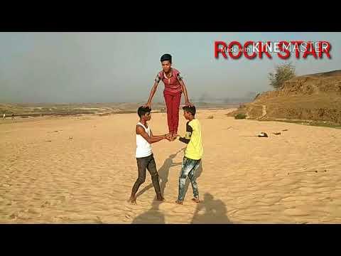 Rock star dance crew stunts video  (udnabad Giridih ) 8521179606