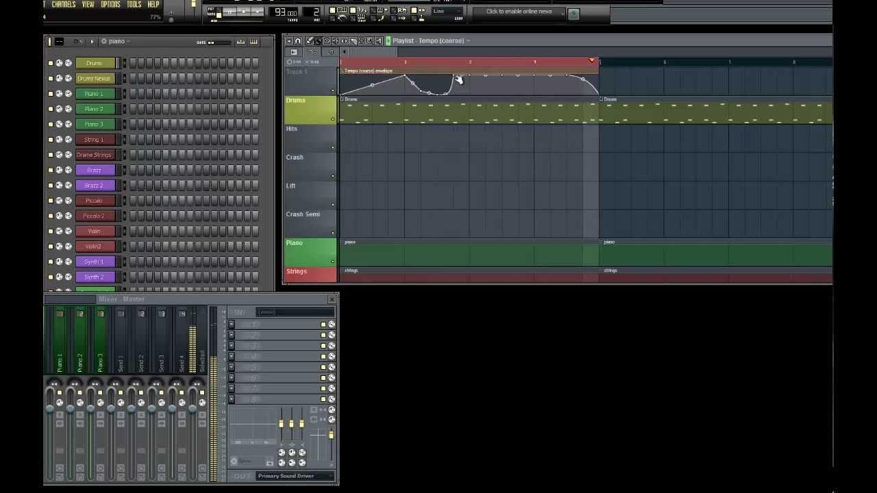 FL Studio How To Change Tempo & Automation Tutorial - YouTube
