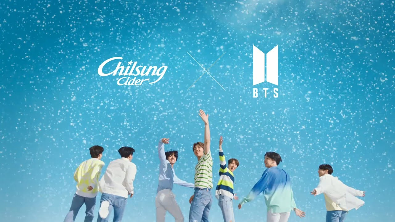 Chilsung Cider Debuts Bts As Its Newest Brand Ambassadors