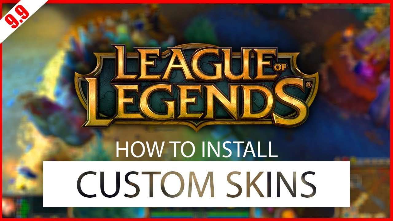 league of legends cant install custom skins
