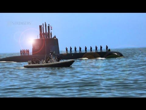 EGYPT || Egypt receives a German made 209/1400 Submarine at the Ras al Tin base