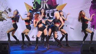 Gambar cover 190504 Valentia cover KPOP - Intro + Abracadabra + Dr.Feel Good @ SQ1 JK Street Cover Dance 2019