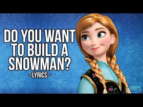 Frozen – Do You Want To Build A Snowman? (Lyrics) HD