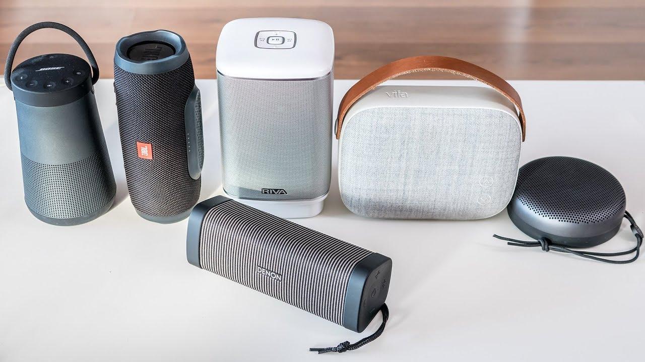 Beragam jenis Speaker bluetooth portabel.