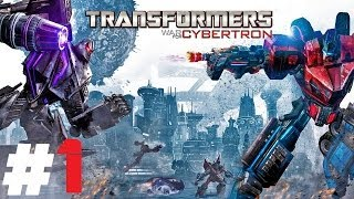 Transformers: War for Cybertron - Autobot Pt.1 || PS3 || Focus On The Task At Hand