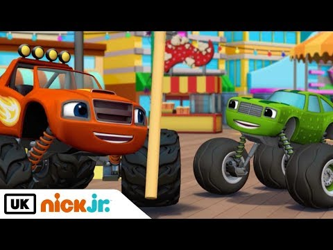 Blaze and the Monster Machines | Pickle the Champion | Nick Jr. UK