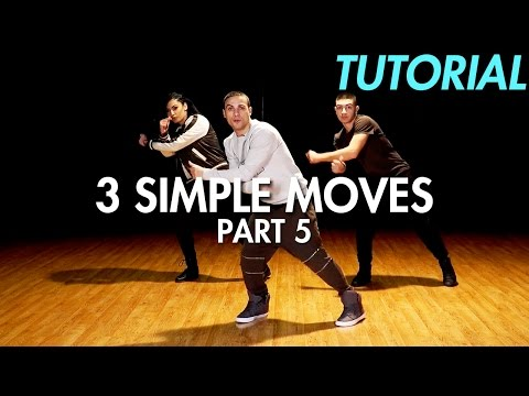 3 Simple Dance Moves for Beginners - Part 5 (Hip Hop Dance Moves Tutorial) | Mihran Kirakosian