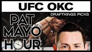 DFS MMA: UFC Fight Night Oklahoma City DraftKings Picks & Preview