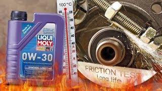 Liqui Moly Synthoil Longtime 0W30 Jak skutecznie olej chroni silnik? 100°C