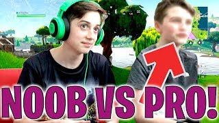 Fortnite Pro Teaches Noob How To Play Amazingly! (How To Be Better At Fortnite!)