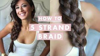 How To: Five (5) Strand Braid thumbnail